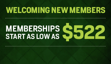 Welcoming New Members - Memberships Start as Low as $522